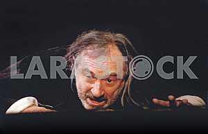 Bohdan Stupka in the role of King Lear