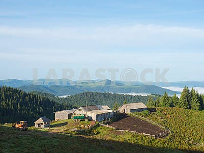 Farm in the Carpathians