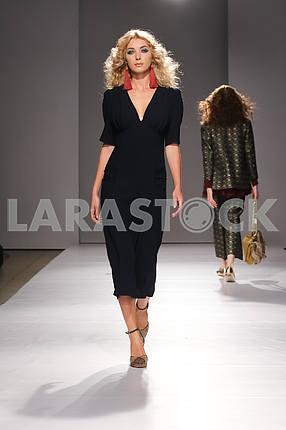 V by Gres show in the 14th season of the international fashion week of Mercedes-Benz Kiev Fashion Days F / W 17-18 in Ukraine