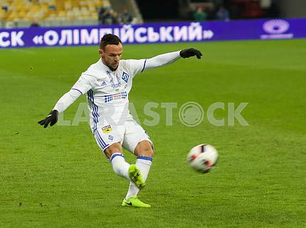 Dynamo vs. Chernomorets match