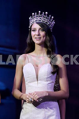 """The owner of the title """"Miss Ukraine-2017"""" Polina Tkach"""
