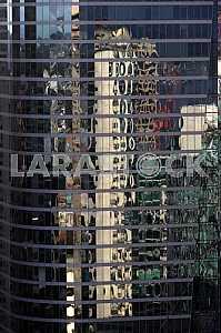Skyscraper closeup.