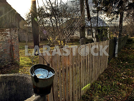 Well and fence