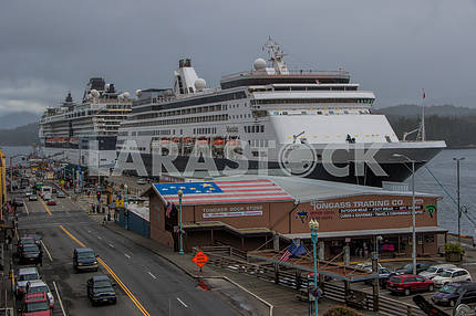 Cruise port of Alaska.