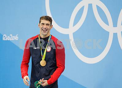 Michael Phelps, the Olympic champion in the 200 m Butterfly