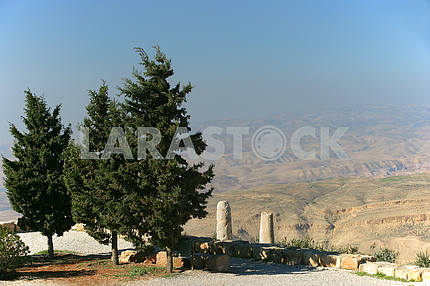 View from Mount Nebo or Sky