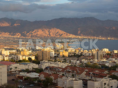 View of Eilat and Aqaba