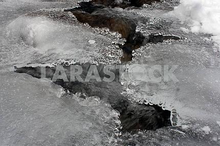 Lace ice frozen