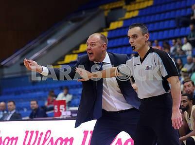 Vladimir Koval, coach of Budivelnik
