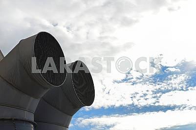 Вентиляційні труби систем кондиціонування повітря