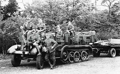 Famo. German infantry fighting vehicle