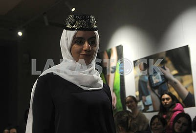 "Demonstration of the Crimean Tatar clothing brand ""Qara biber"""