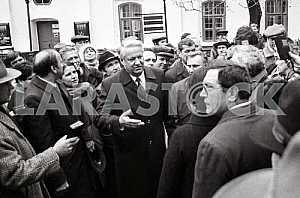 Boris Yeltsin in the Kyiv