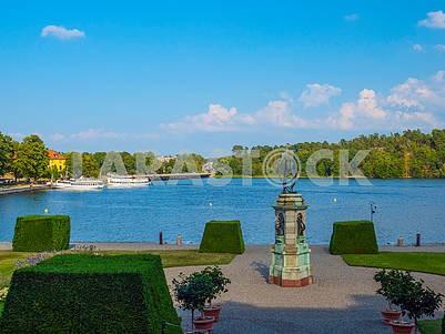 Drottningholm Park, Lake Mälaren