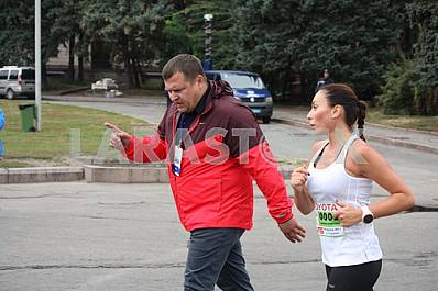 "Boris and Marina Filatov ""Dnipro eco marathon"" race"