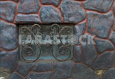 Forged figure metal lattice