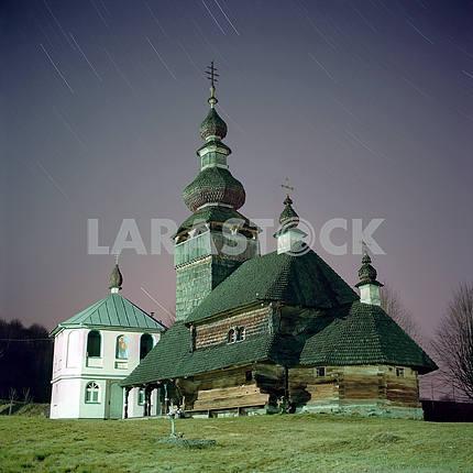 Orthodox church of St. Michael the Archangel. Svaliava