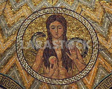 Eve, mosaic