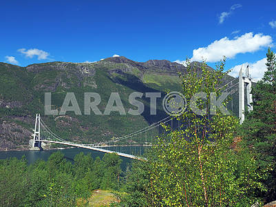 Bridge over the fjord