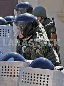 Teachings of the security of the Azerbaijan Republic Embassy in Kiev