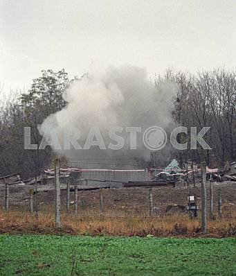 Destruction of nuclear mine in the First