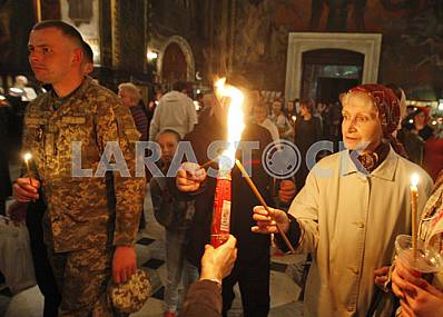 Easter celebrations in Kiev