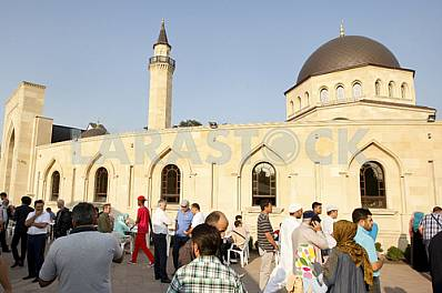 The celebration of the Eid al-Adha in Kiev