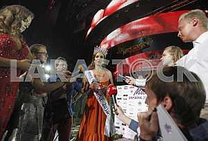 The Miss Ukraine 2016 Olexandra Kucherenko