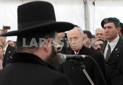 Shimon Peres in Kiev