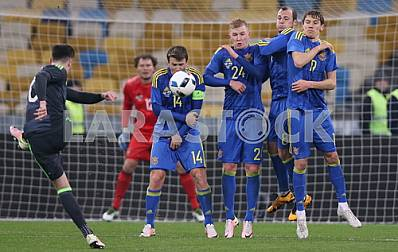 The national team of Ukraine - national team of Wales 1: 0