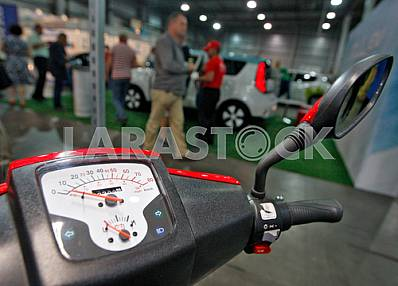 The exhibition of electric cars in Kiev