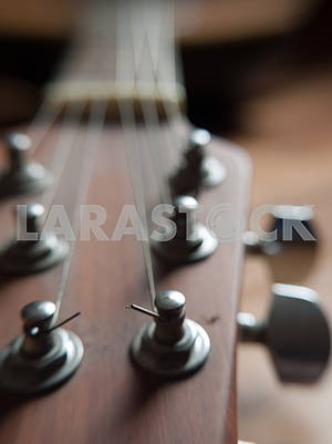 Macro Guitar Strings