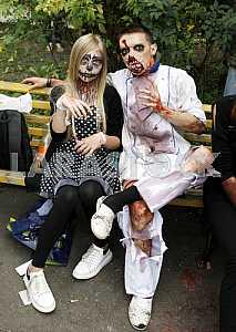 Zombie Walk in Kiev